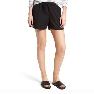 Madewell Casual Pull On Black Shorts Size XXS